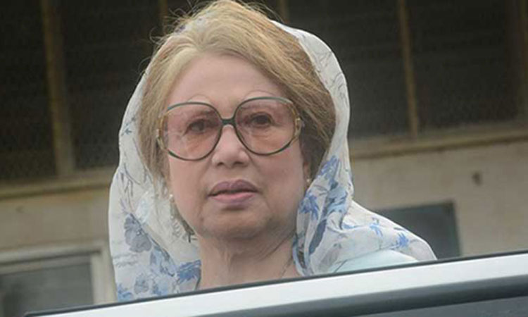 Khaleda files bail petitions with HC in 3 cases