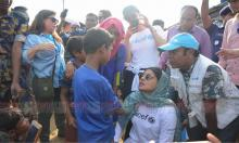 Priyanka visits 3 Rohingya camps in Teknaf