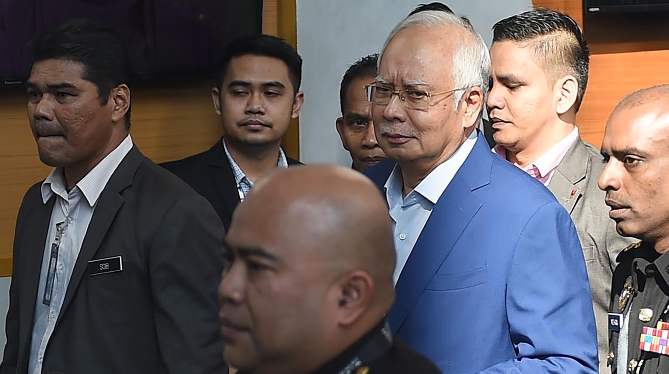 Malaysia fromer PM Najib quizzed by graft agency