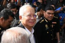 Malaysia's Najib quizzed for second time over graft claims