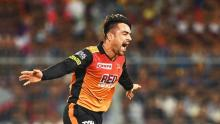 'All-rounder' Rashid guide Hyderabad to IPL final