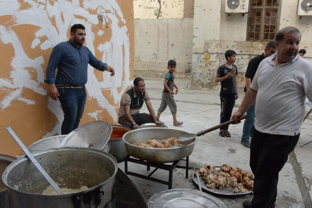 Ramadan spirit back in IS-free Mosul in Iraq