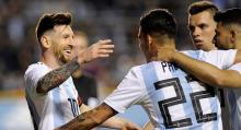 Messi`s hat-trick helps Argentina to 4-0 win over Haiti