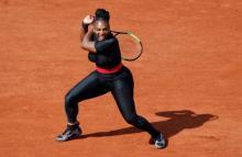 New mum Serena returns to Grand Slam court