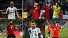 Squads for World Cup 2018, All Groups