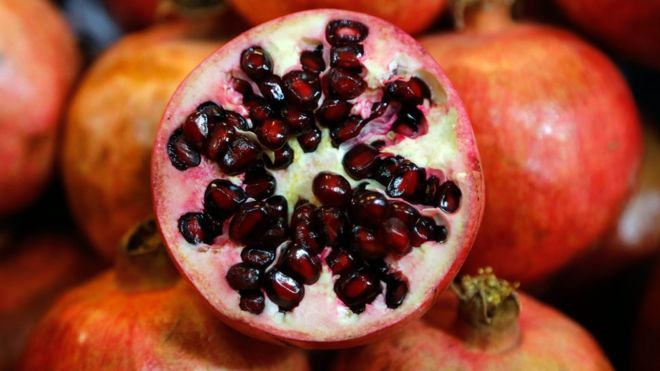 Frozen pomegranate kills woman in Australia