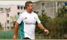 English coach Steve Rhodes Tiger's new coach