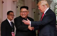Trump, Kim begin historic summit