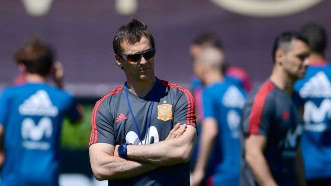 Spain fires coach Lopetegui just before WC debut