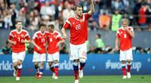 Host nation Russia thrash Saudi Arabia 5-0 in World Cup opener