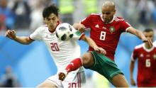 Iran snatch last minute victory against Morocco