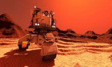 Massive dust storm on Mars threatens Nasa's puny rover