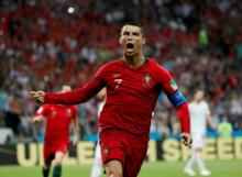 Ronaldo sets new World Cup record