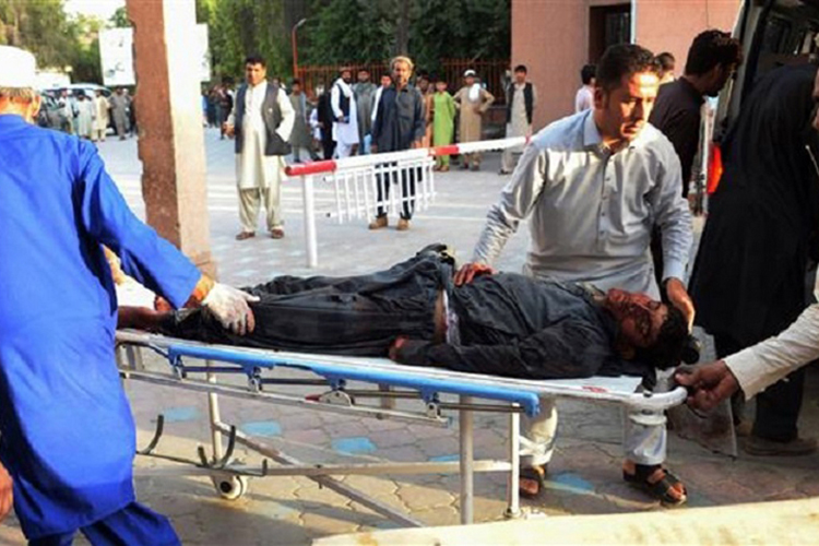 At least 20 dead in suicide attack on Afghan Taliban, civilians: officials
