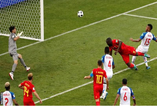 Belgium beat Panama 3-0 in World Cup