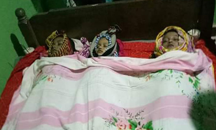 Three of a family drown in Cox's Bazar pond