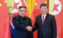 Kim hails 'unity' with China in fresh visit