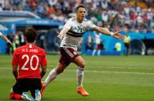 Mexico near last 16 with 2-1 S Korea win