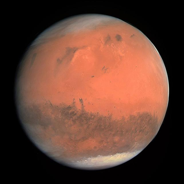 Mars' could have been habitable 100m years before Earth