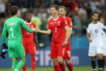 Switzerland, Costa Rica share points 2-2 in World Cup