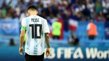 Messi's miseries with Argentina