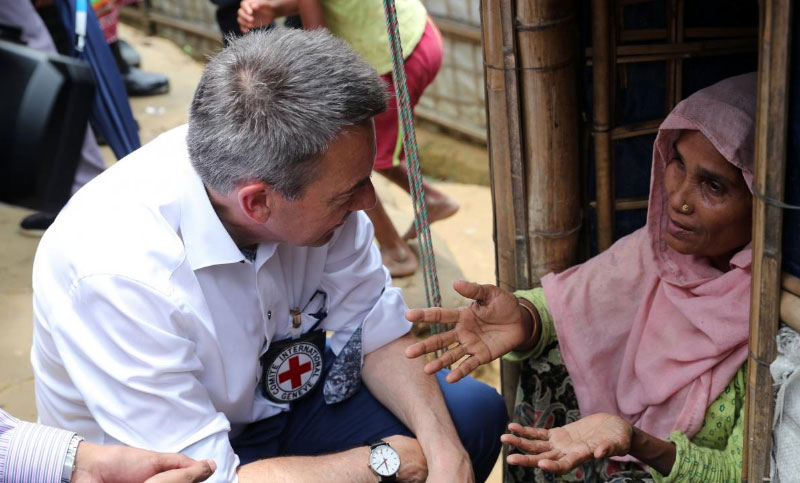 Myanmar not ready for Rohingya to return: Red Cross chief