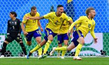 Sweden book place in World Cup quarter-finals after edging past Switzerland