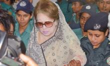 Khaleda's bail pleas rejected in two cases