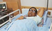 Menon hospitalised after breaking his leg