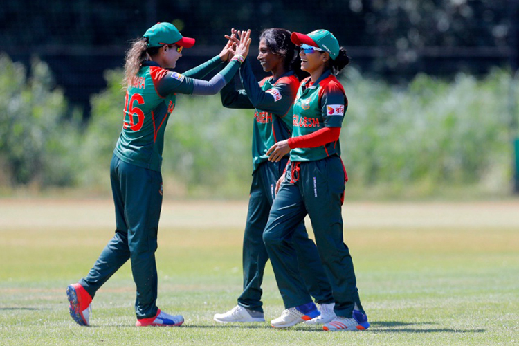 Bangladesh women thrash Netherlands by seven wickets