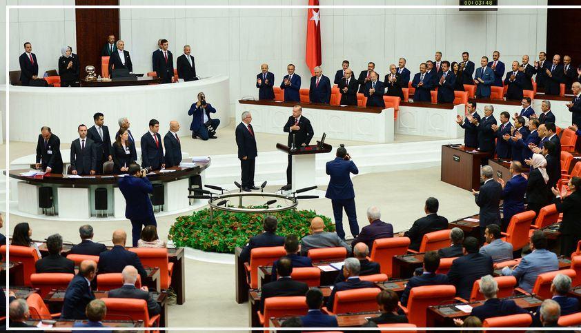 Turkey's Erdogan sworn in as first executive president