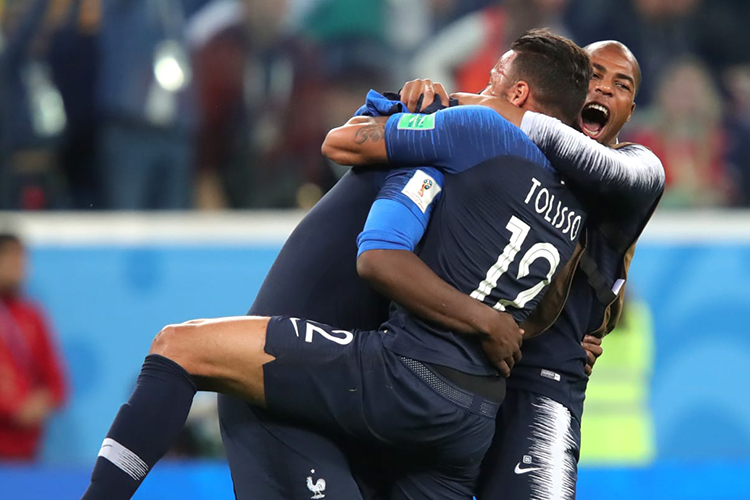 France beat Belgium by 1-0 goal to move into final