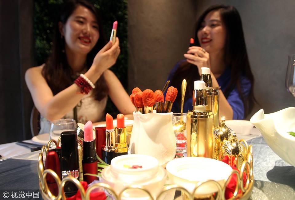 Taste your cosmetics!