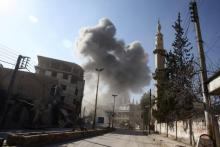 Air strike in eastern Syria kills at least 28 people: reports