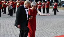 Trump says May's Brexit plan would kill UK-US trade deal
