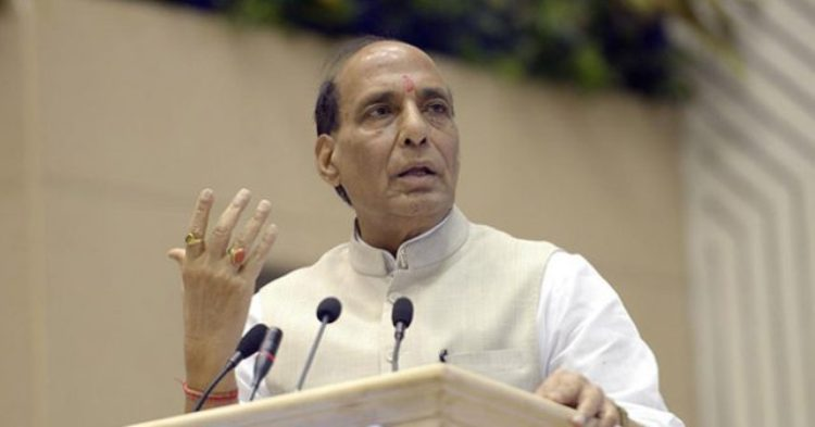 Rajnath arrives in city today