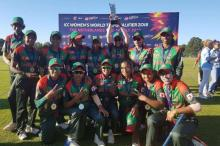 Bangladesh eve become champions in Women's T20 qualifier
