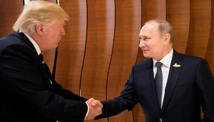 Trump sits down with Putin after denouncing past US policy on Russia