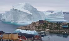 Giant iceberg threatens Greenland village
