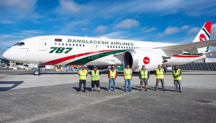 Biman's Dreamliner 787 joins prestigious British air show
