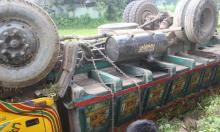 3 killed as truck falls into Jamalpur ditch