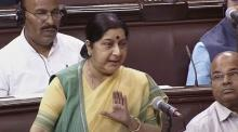Hindu population in Bangladesh increasing: Sushma Swaraj