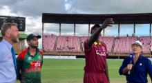 Bangladesh bat first in decisive ODI against West Indies