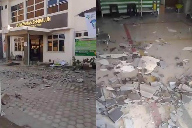 Powerful quake hits Indonesia's Lombok, 10 killed, houses damaged