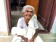 96-year-old woman appears for literacy exam