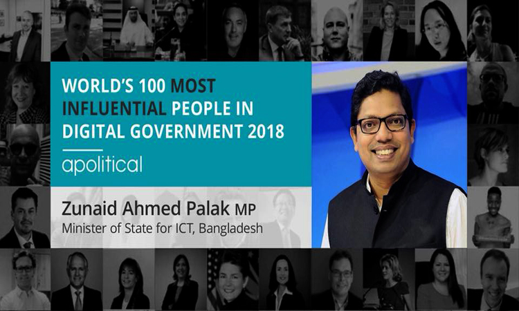 Palak world's 100 most influential people in digital government