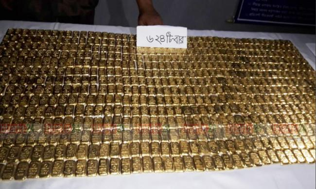 Man held with 73 kg gold at Benapole