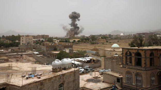 Yemen rebels say Saudi coalition airstrike in north kills 50