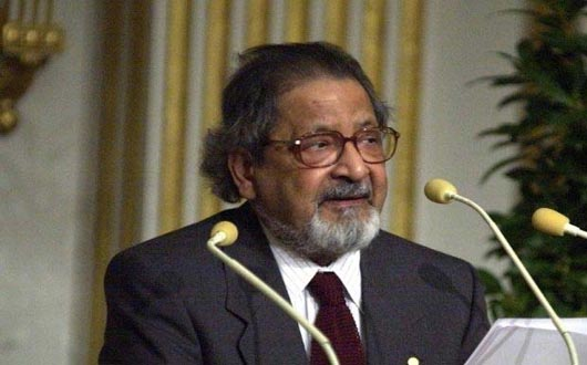 Nobel laureate writer VS Naipaul dies