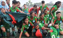 BD beat Nepal 3-0 to emerge group top in SAFF U-15 Women's championship